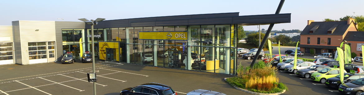 Photo de la concession Auto Concept Opel à Quimper
